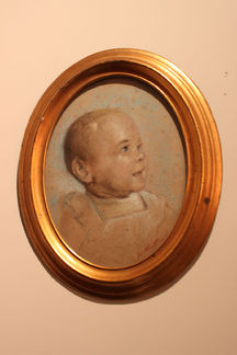 Ovaal kinderportret
