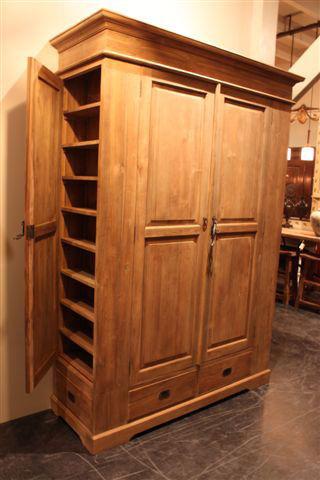 Meubelen - Model bibliotheek houten ...